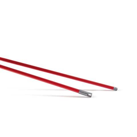 Manico Vital Perfetto Factory 130 cm. rosso 0032