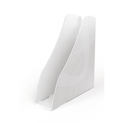 Portariviste ARDA Mydesk polistirolo bianco 7,5x26,6x27,8 cm 7118B