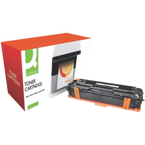 Toner Q-Connect compatibile con HP CB540A - nero KF10821