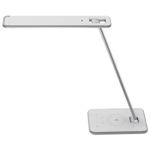 Lampade da tavolo UNILUX Jazz grigio metallizzato 400093836