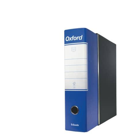 Registratore con custodia Esselte G85 Oxford protocollo 29,5x35 cm - dorso 8 cm blu - 390785050 Immagine del prodotto Einzelbild 2 XL