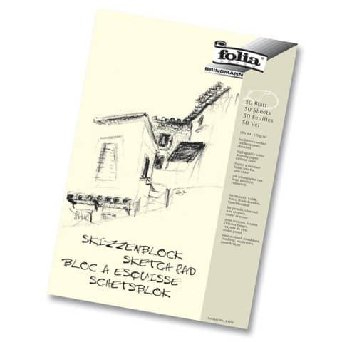 Skizzenblock  A4 50 Blatt Produktbild