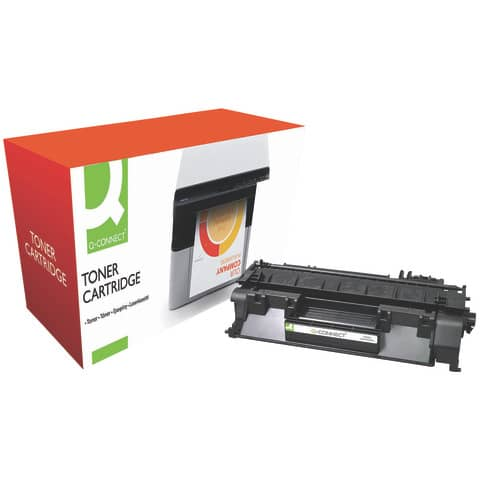 Toner Q-Connect compatibile con HP CE505A nero KF14571