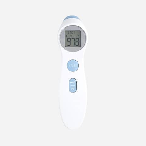 Termometro professionale ad infrarossi distanza di misura 2-3 cm - Certificazione CE - bianco - DET306 Immagine del prodotto Einzelbild 2 XL