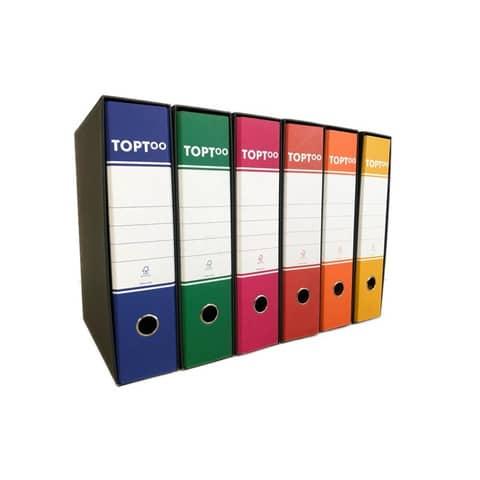 Registratore protocollo TOPToo con custodia dorso 8 cm blu 23x33 cm - RMP8BL Immagine del prodotto Einzelbild 3 XL