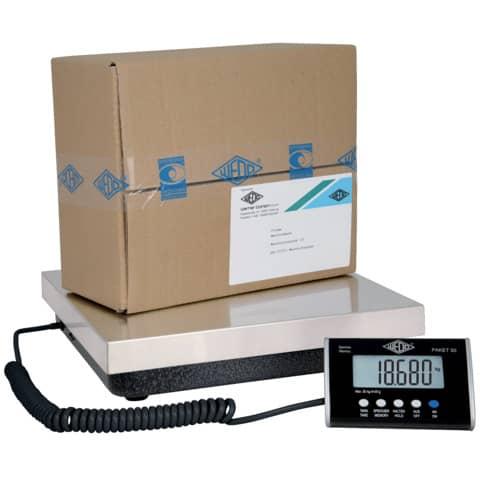 Bilancia pesapacchi WEDO® Packet 50 argento 050775020
