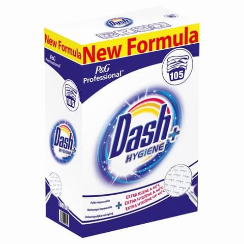 Detersivo in polvere 6,28 Kg Dash Hygiene+ conf. da 105 misurini confezione da 105 misurini - PG058