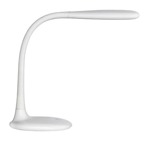Lampada da tavolo a led UNILUX Lucy bianco 400093614