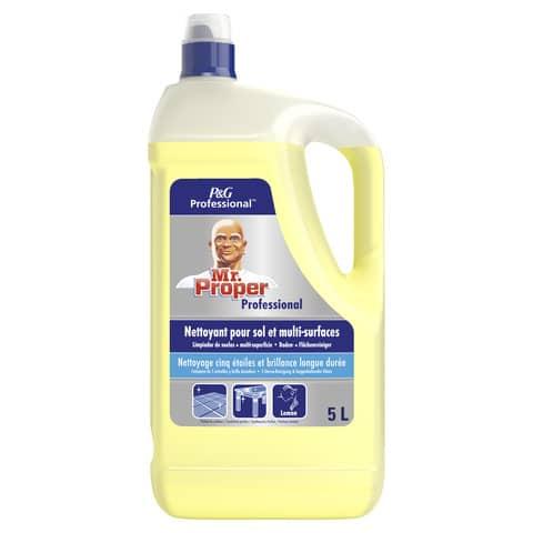 Detergente Multisuperficie Mastrolindo flacone 5 L limone PG008