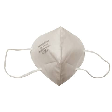 Mascherine monouso FFP2 - Certificazione CE 2163 in TNT bianco - scatola da 20 pezzi, singolarmente imbustati Immagine del prodotto Einzelbild 4 XL
