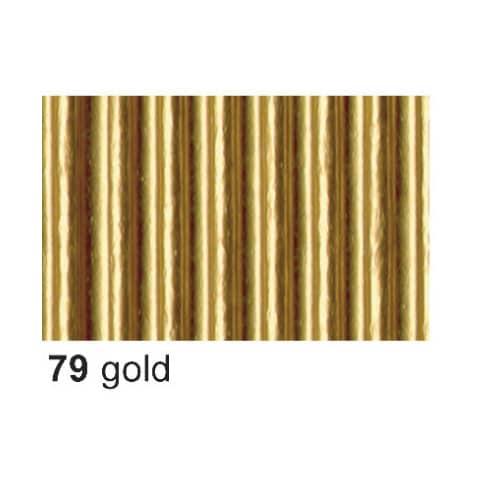 Bastelwellpappe  gold Produktbild