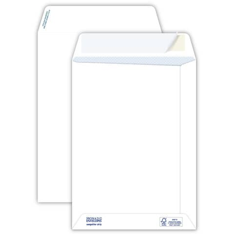 Buste a sacco bianche autoad. removibili Pigna Envelopes Competitor strip 80 g/m² 190x260 mm  conf. 500 - 0029472