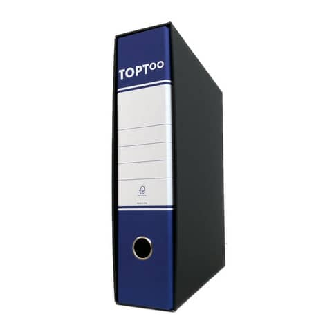 Registratore protocollo TOPToo con custodia dorso 8 cm blu 23x33 cm - RMP8BL Immagine del prodotto
