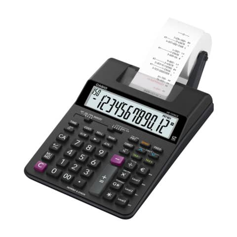 Tischrechner 12-stellig druckend CASIO HR-150RCE Produktbild Einzelbild 1 XL