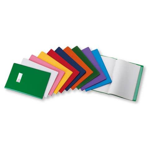 Copriquaderno con etichetta FAVORIT Coprimaxi liscio 21x29,7 cm trasparente 100460683
