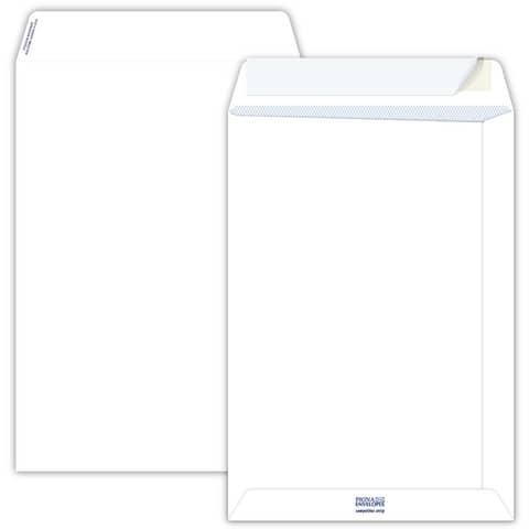 Buste a sacco Pigna Envelopes Competitor Strip 80 g/m² 230x330 mm bianco Conf. da 20 buste - 0654573