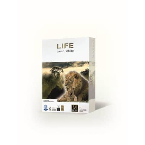 Carta per fotocopie A4 Primus Life Riciclata ISO 80 500 ff 01A480LIFE
