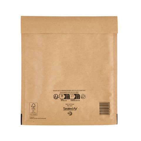Buste imbottite Mail Lite® Gold E 22x26 cm Avana minipack 10 pz. - 103041282