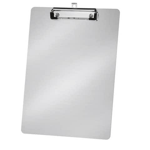 Tavoletta portablocco Lebez A4 argento  7720