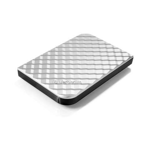 Hard Disk Esterno Verbatim Store 'n' Go USB 3.0 2 TB argento - 53198