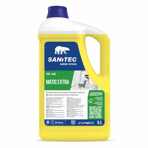Sgrassatore concentrato per pavimenti SANITEC Matic Extra 6 Kg 1445