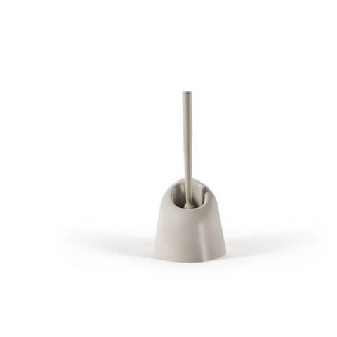 Portascopino Perfetto angolare - 13x13x39 cm. bianco 0087