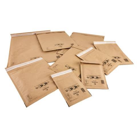 Buste imbottite Mail Lite® Gold CD 18x16 cm avana minipack 10 pz. - 103008648