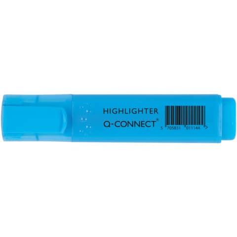 Evidenziatore Q-Connect 1,5-2 mm blu  KF01114