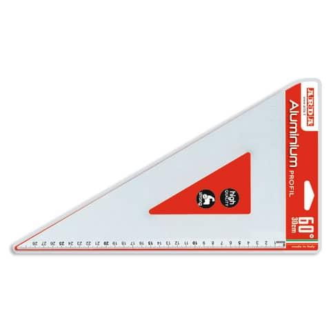 Squadra ARDA Linea Profil alluminio 60° cm 30 18132