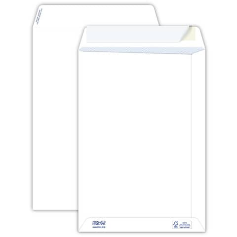 Buste a sacco bianche autoad. removibili Pigna Envelopes Competitor strip 80 g/m² 230x330 mm  conf. 500 - 0029481