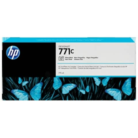 Cartuccia inkjet 771C HP nero foto standard B6Y13A