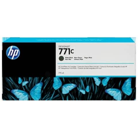 Cartuccia inkjet 771C HP nero opaco standard B6Y07A