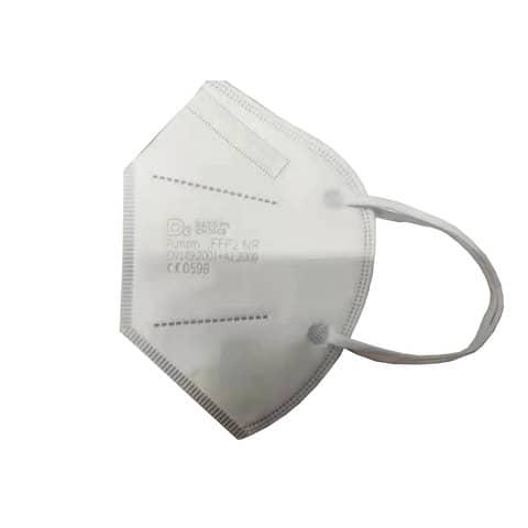 Mascherine monouso FFP2 bianche - Certificazione CE 0598 - Scatola da 20 pezzi, singolarmente imbustati Immagine del prodotto Einzelbild 2 XL