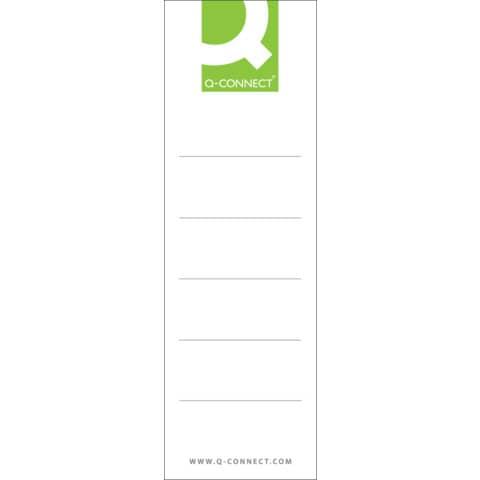 Rückenschild Steck 10ST breit Produktbild