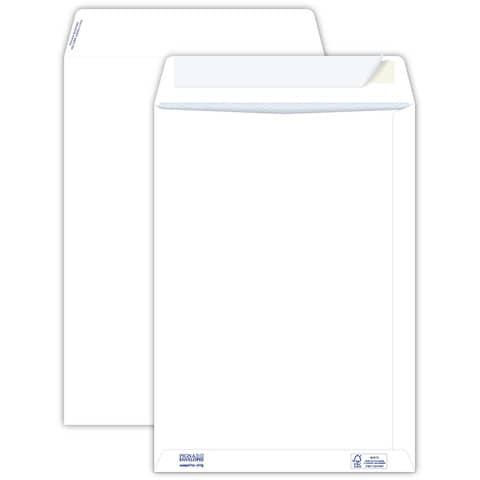 Buste a sacco bianche autoad. removibili Pigna Envelopes Competitor strip 80 g/m² 250x353 mm  conf. 500 - 0099066