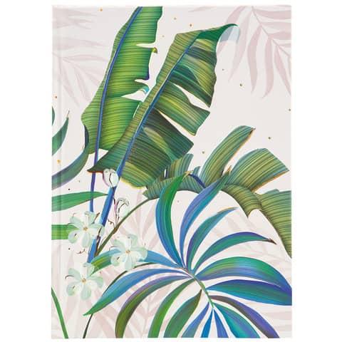 Notizbuch Tropical weiß Produktbild