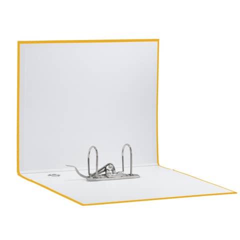 Registratore con custodia Esselte G55 Eurofile protocollo dorso 8 cm cartone rivestito in PP giallo - 390755090 Immagine del prodotto Einzelbild 3 XL