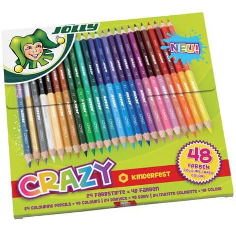 Farbstiftetui 24ST DUO Produktbild
