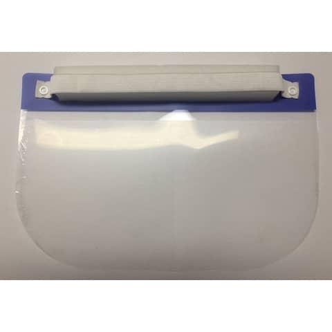 Visiera di protezione individuale in PET trasparente - lavabile e riutilizzabile - 32x22 cm - 470404 Immagine del prodotto Einzelbild 2 XL