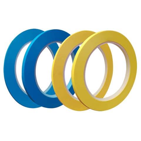 Nastro adesivo da imballo SYROM formato 9 mm x 66 m - materiale ppl azzurro conf. da 16 - 7227