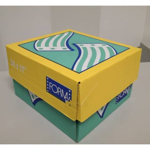 "Moduli continui ""CARTA BIANCA"" Form 3 copie chimiche piste staccabili bianco scatola da 750 moduli - 61030138"