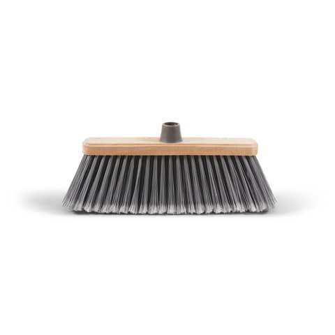 Scopa per esterni Spazzesterni Perfetto coccia in legno 0020B