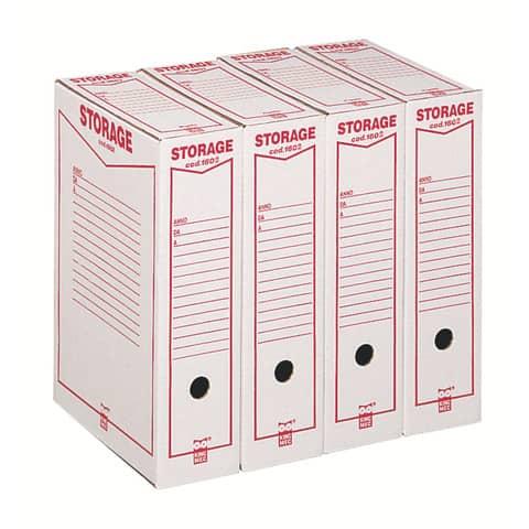 Scatola archivio King Mec Storage Legale 9x37x26 cm bianco 160200 Immagine del prodotto