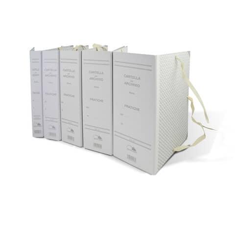Faldone con lacci occhiellati EURO-CART cartone da 1,8 mm dorso 12 cm - 25x35 cm CA12 Immagine del prodotto