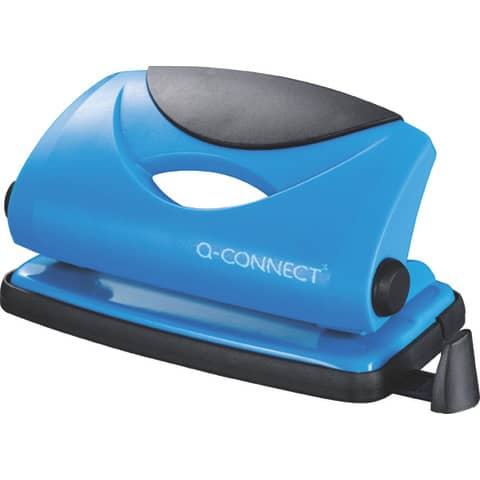 Perforatore a due fori Q-Connect blu 10 fogli KF02153