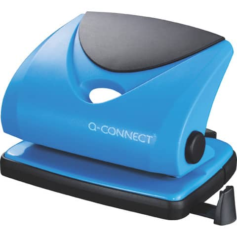 Perforatore a due fori Q-Connect blu 20 fogli KF02155