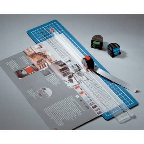 Kit da taglio Dahle 360 con lama rotante blu R000360
