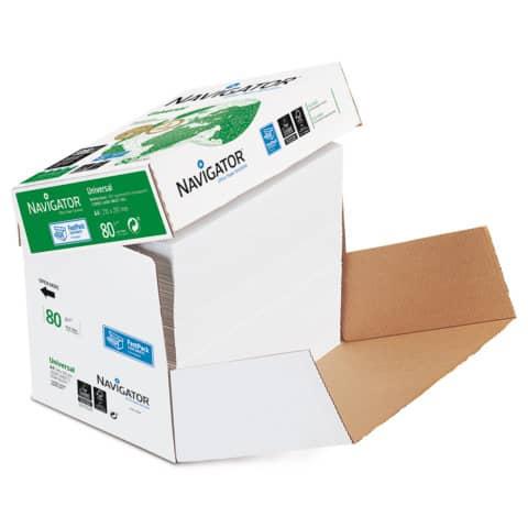 Carta per fotocopie A4 Navigator Universal 80 g/m² Scatola da 2500 fogli NUN0800652