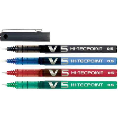 Roller Pilot Hi-Tecpoint V5 0,5 mm nero  011690 Immagine del prodotto Stammartikelabbildung XL